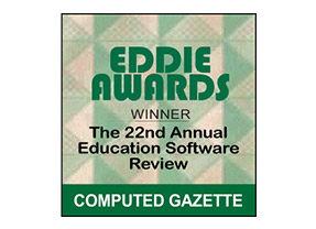 Eddie Awards Winner - The 22nd Annual Education Software Review