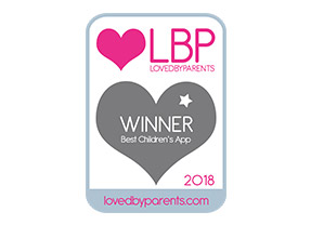 Loved by Parents Best Children's App Award Winner 2018