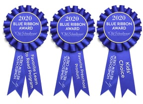 Homeschool Review Crew 2020 Blue Ribbon Awards