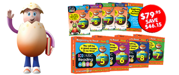 Reading Eggs Book Pack Level 2 sale