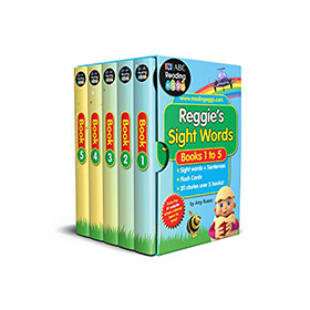 Reggie's Sight Words Book Set