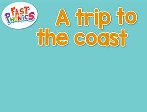 A trip to the coast decodable book