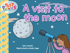 A visit to the moon decodable book