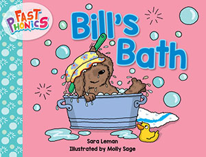 Bill's bath decodable book