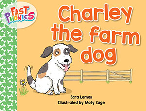 Charley the farm dog decodable book