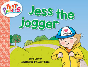 Jess the jogger decodable book