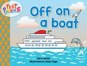 Off on a boat decodable book
