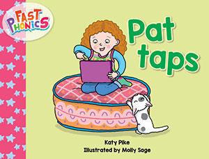 Pat taps decodable book