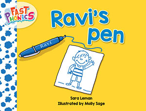 Ravi's pen decodable book