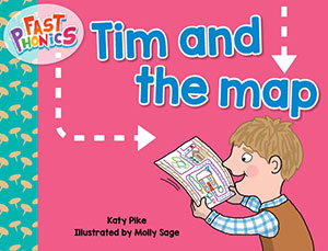 Tim and the map decodable book
