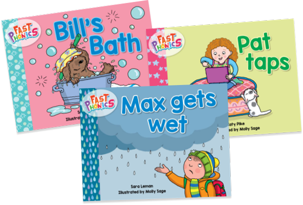 Fast Phonics decodable books