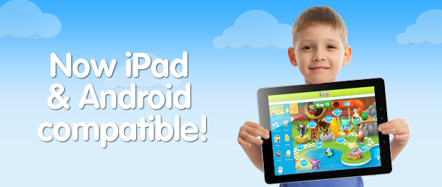 teach your child to read on tablet