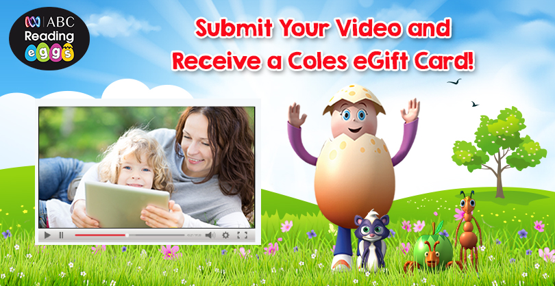 Share your video and receive an $100 Coles egift card!