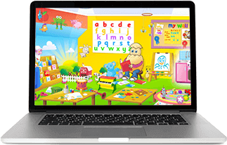 Access ABC Reading Eggs on Laptop