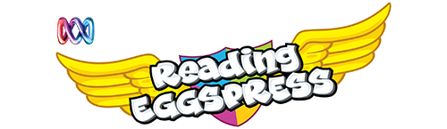 ABC Reading Eggspress logo