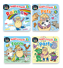 Reggie and Friends Bath Book Pack