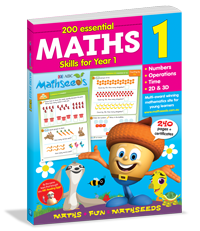 200 Essential Maths Skills for Year 1 Workbook
