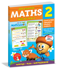 200 Essential Maths Skills for Year 2 Workbook