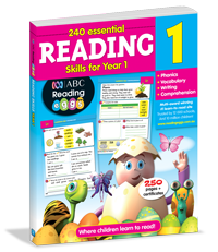 240 Essential Reading Skills for Year 1 Workbook