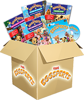 The Eggsperts Book and DVD Pack