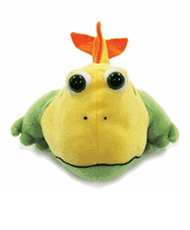 Frogfish ABC Reading Eggs critter puppet