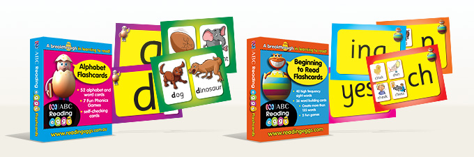 Learn to Read ABC Reading Eggs Flashcards