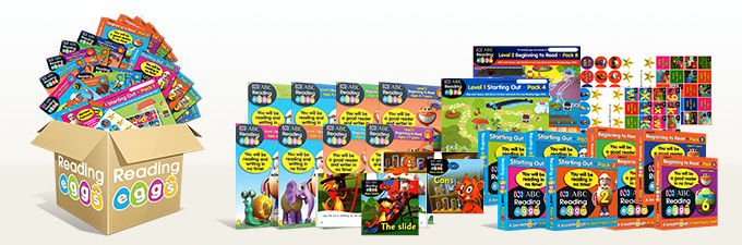 Learn to Read ABC Reading Eggs Mega Book Pack
