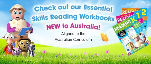 Check out our Essential Skills Reading Workbooks - NEW to Australia! Aligned to the Australian Curriculum