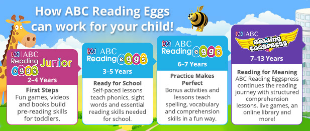 Learn to Read with ABC Reading Eggs